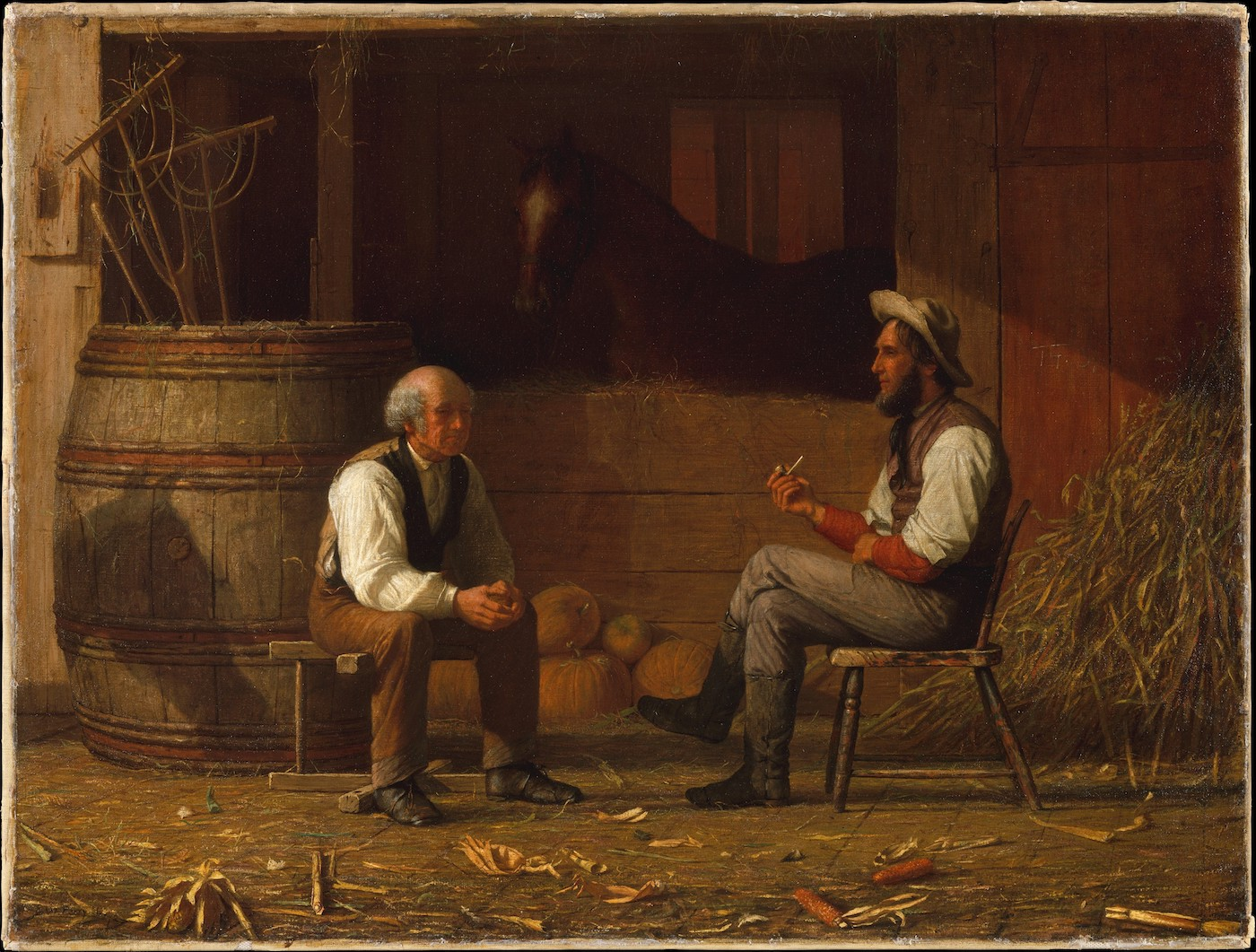Talking It Over by Enoch Wood Perry, 1872